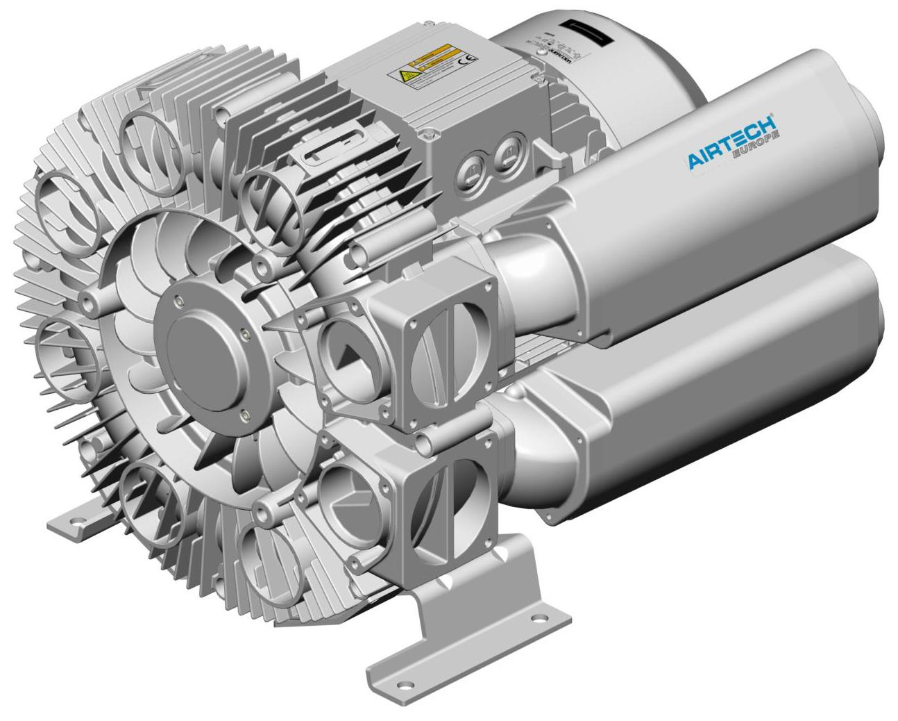 Asp High Pressure Side Channel Blower Airtech Europe
