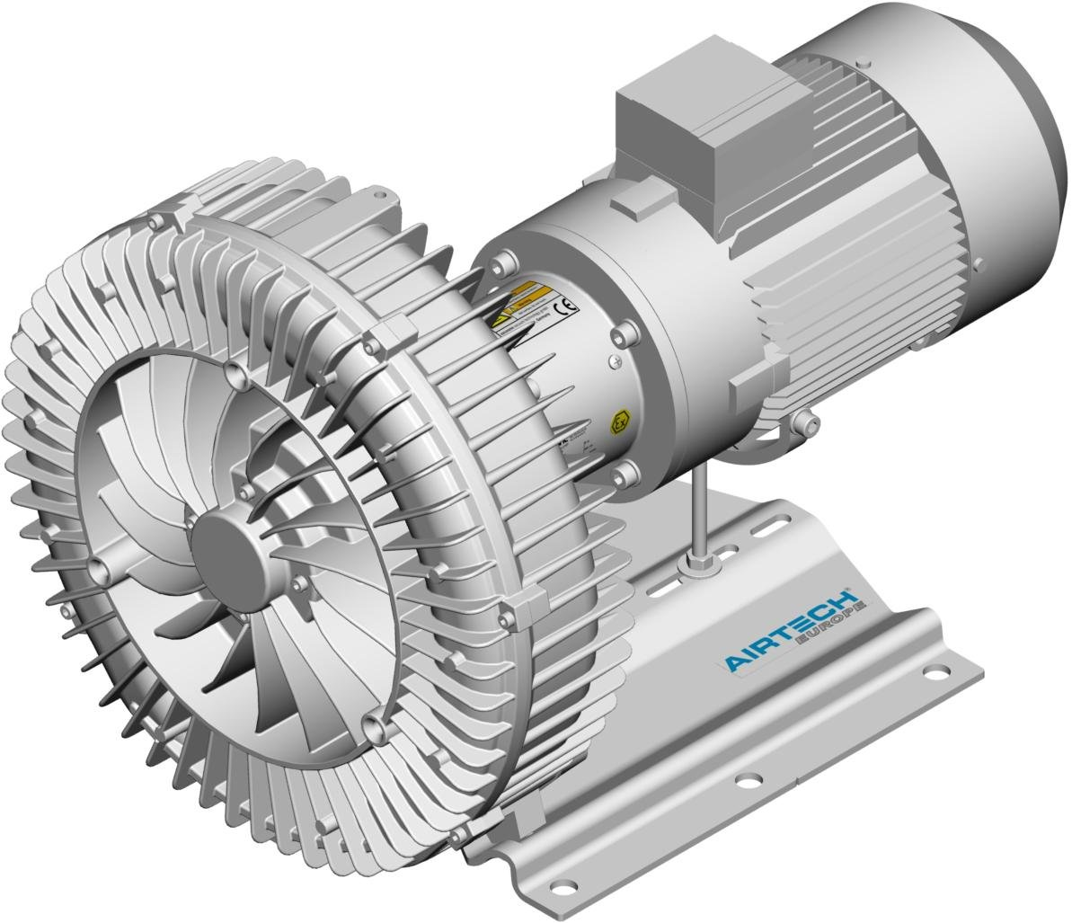 ASCATEX Side channel blower